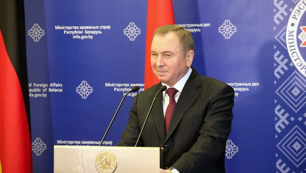 Министр иностранных дел Владимир Макей - Sputnik Беларусь