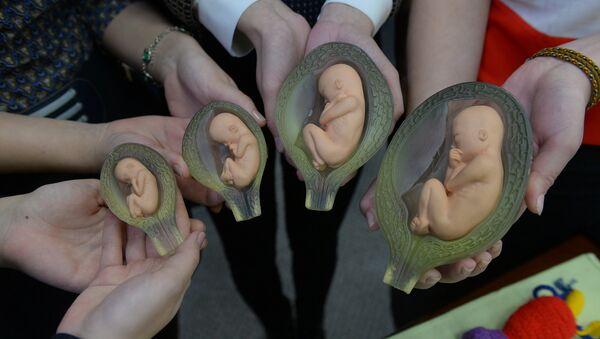 В рамках проекта Выбери жизнь студенты подробно рассказывают о беременности - Sputnik Беларусь