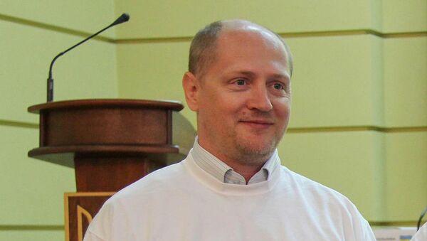 Корреспондент Украинского радио Павел Шаройко  - Sputnik Беларусь