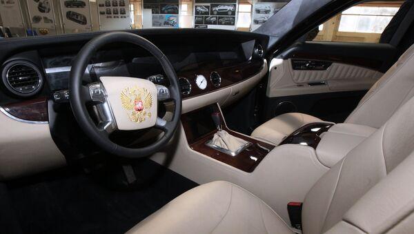 Интерьер автомобиля проекта Кортеж - Sputnik Беларусь