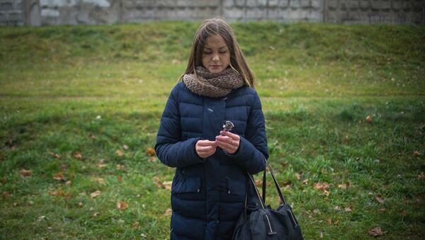 Анна, девушка осужденного - Sputnik Беларусь