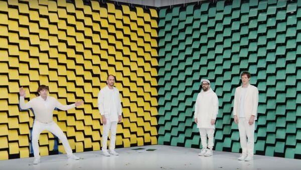 Амерыканцы OK Go знялі кліп з дапамогай 567 прынтараў - Sputnik Беларусь