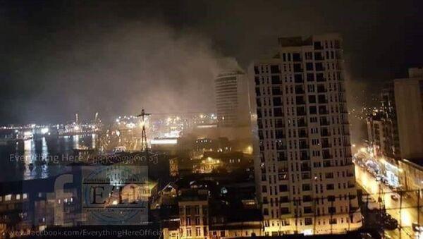 Пожар в батумской гостинице Лео Гранд - Sputnik Беларусь