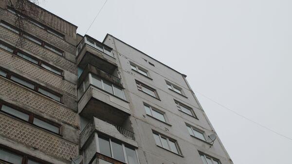 Дом, где произошло ЧП - Sputnik Беларусь