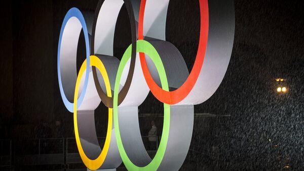 Олимпийские кольца, архивное фото - Sputnik Беларусь
