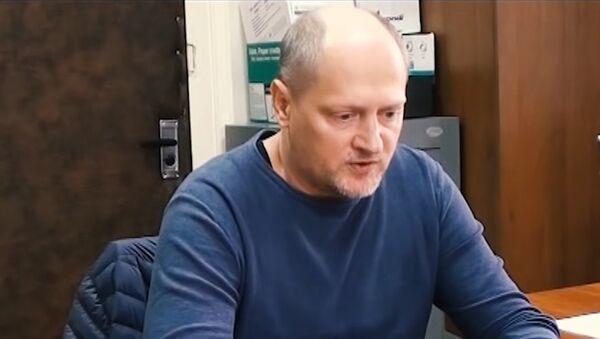 Кадры допроса гражданина Украины Павла Шаройко, подозреваемого в шпионаже - Sputnik Беларусь