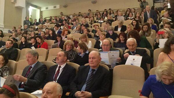 Міжнародная канферэнцыя па рускай мове праходзіць у Мінску - Sputnik Беларусь
