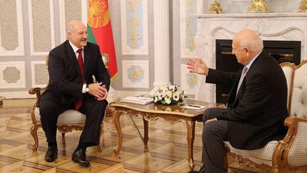 Встреча с президентом Европейских олимпийских комитетов Янезом Кочианчичем - Sputnik Беларусь