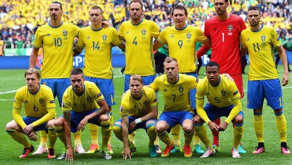 Сборная Швеции по футболу - Sputnik Беларусь