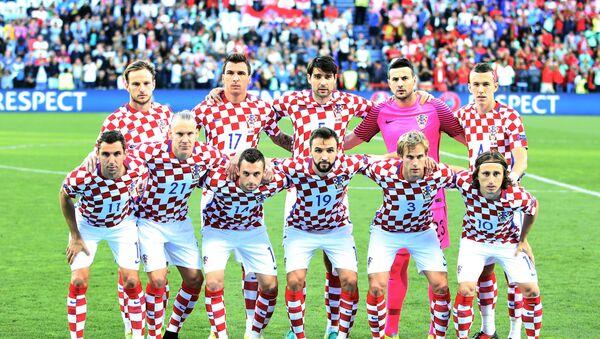 Сборная Хорватии по футболу - Sputnik Беларусь