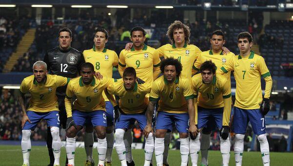 Сборная Бразилии по футболу - Sputnik Беларусь