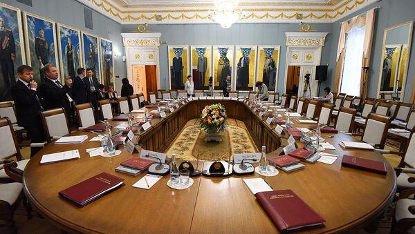 Заседание союзного Совмина в Гомеле - Sputnik Беларусь