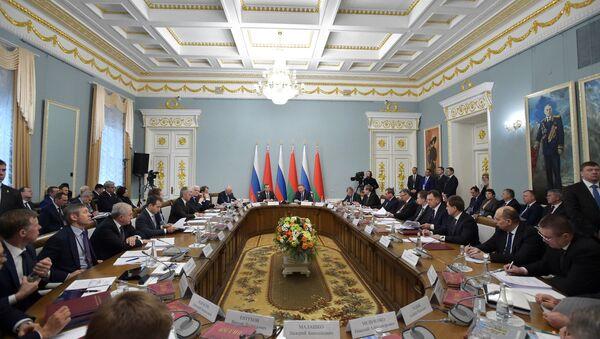 Совет министров Союзного государства в Гомеле - Sputnik Беларусь