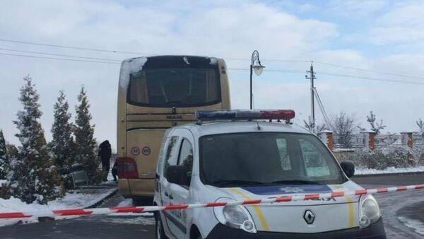 Польский автобус попытались подорвать в Львовской области - Sputnik Беларусь