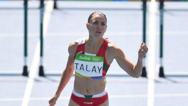 Белорусская легкоатлетка Алина Талай - Sputnik Беларусь