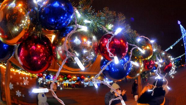 Новогодняя ярмарка в Минске - Sputnik Беларусь