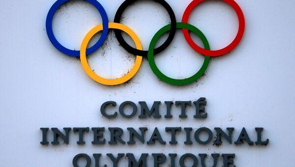 Шыльда штаб-кватэры Міжнароднага алімпійскага камітэта (МАК) у Лазане - Sputnik Беларусь