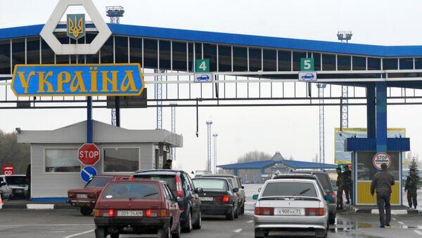 Работа таможенных и пограничных служб Украины, архивное фото - Sputnik Беларусь