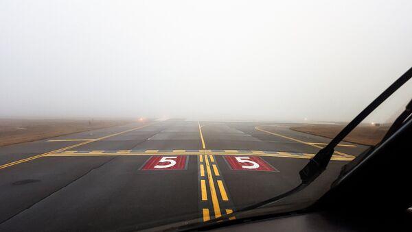 Туман в аэропорту - Sputnik Беларусь