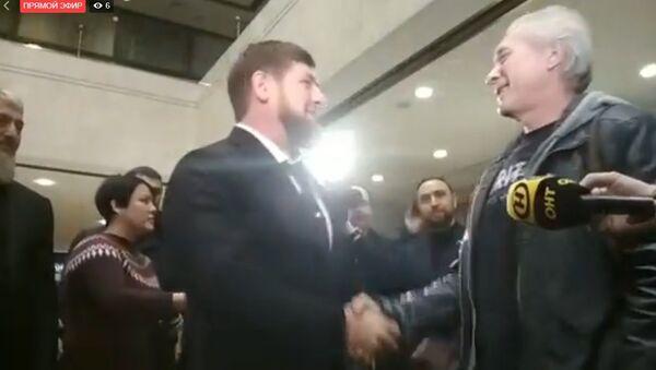 Встреча Кадырова с освобожденными в Ливии белорусскими врачами - Sputnik Беларусь