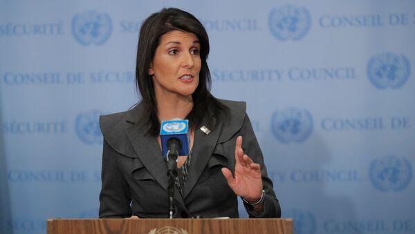 Постпред США при ООН Никки Хейли - Sputnik Беларусь