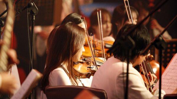 Оркестр, архивное фото - Sputnik Беларусь