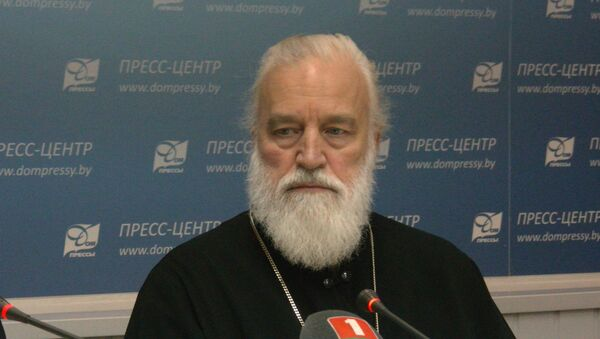 Каляднае віншаванне мітрапаліта Паўла - Sputnik Беларусь
