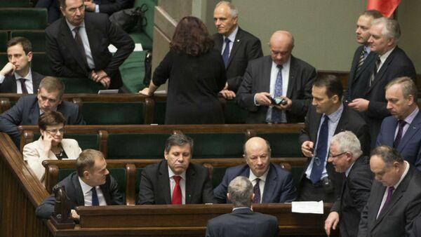 Заседание Сейма Польши - Sputnik Беларусь