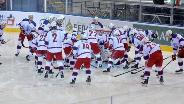 Хоккеисты минской Юности - Sputnik Беларусь