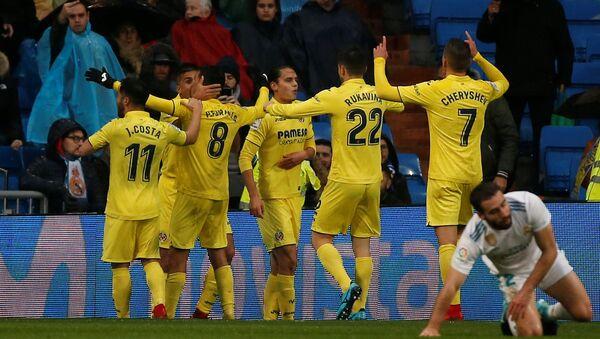 Мадридский Реал впервые в истории на своем поле уступил Вильярреалу - Sputnik Беларусь