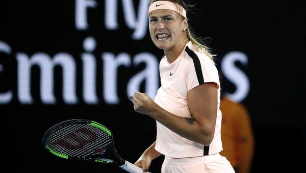 Белорусская теннисистка Арина Соболенко на Открытом чемпионате Австралии - Sputnik Беларусь