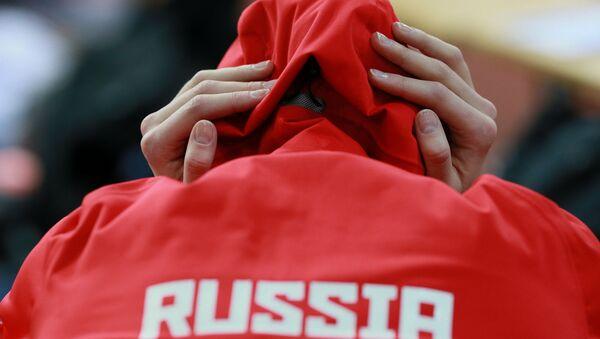 Легкоатлет перед соревнованиями, архивное фото - Sputnik Беларусь
