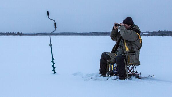 Зимняя рыбалка - Sputnik Беларусь
