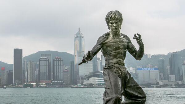 Статуя Бруса Лі ў Ганконгу - Sputnik Беларусь