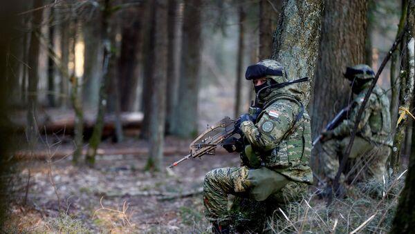 Войска НАТО на границе Литвы и Польши - Sputnik Беларусь