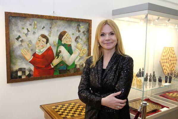 Куратор выставочного проекта «АРТефакты игры» художник Анастасия Балыш - Sputnik Беларусь
