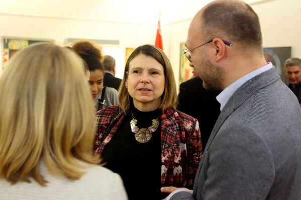 Посол Великобритании госпожа Фионна Гибб - Sputnik Беларусь