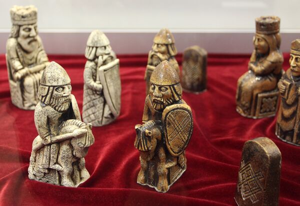 В экспозиции - уникальные предметы, связанные с шахматами - Sputnik Беларусь
