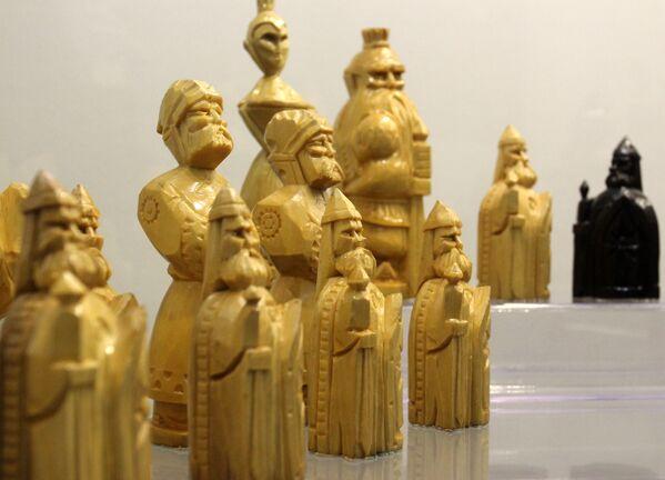 Шахматы из коллекции Национального исторического музея - Sputnik Беларусь