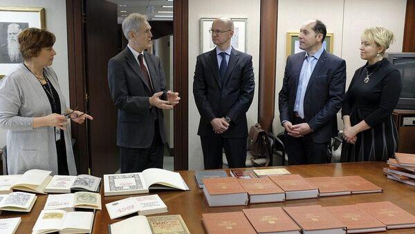 Бібліятэка Кангрэса ЗША атрымала факсімільнае выданне кніг Скарыны - Sputnik Беларусь