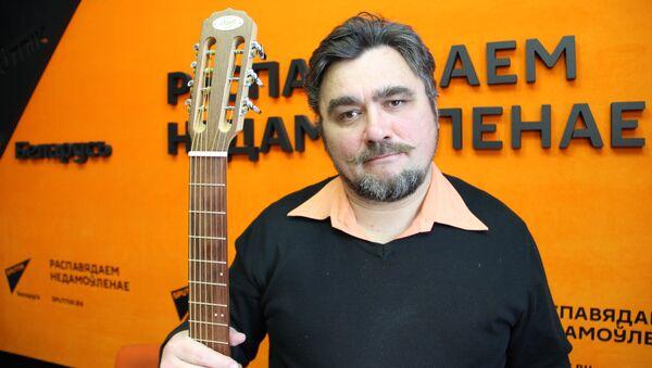 Белорусский бард Дмитрий Бартосик - Sputnik Беларусь