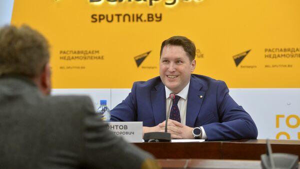 Заведующий консульским отделом Посольства Российской Федерации в Республике Беларусь Гавриил Мамонтов - Sputnik Беларусь