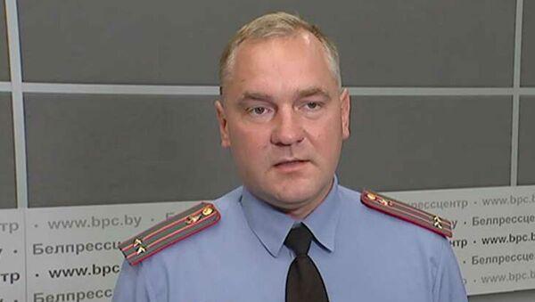 Старший инспектор по особым поручениями УГАИ МВД Республики Беларусь Станислав Соловей - Sputnik Беларусь