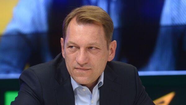 Намеснік галоўнага рэдактара МІА Россия сегодня Андрэй Благадыранка - Sputnik Беларусь