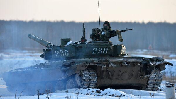 Танк Т-72, архивное фото - Sputnik Беларусь