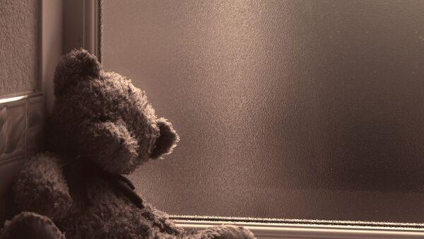 Брошенный плюшевый медвежонок - Sputnik Беларусь
