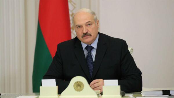 Александр Лукашенко на совещании - Sputnik Беларусь
