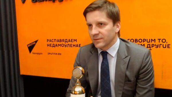 Зампред БТ Иван Эйсмонт в программе Горизонт событий - Sputnik Беларусь
