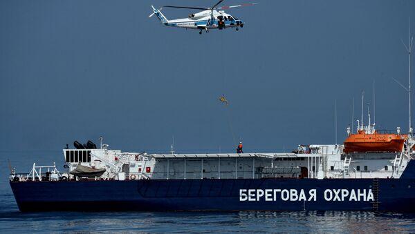 Многосторонние учения береговой охраны Совместный удар в Приморье - Sputnik Беларусь