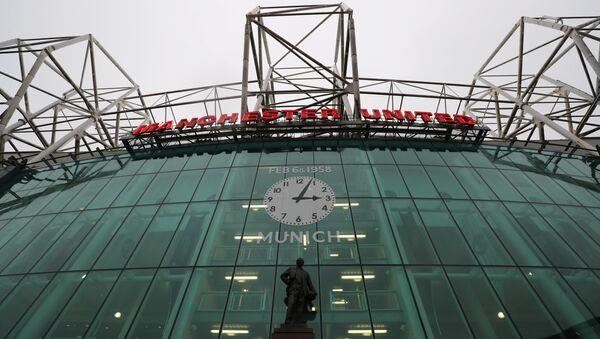 Футбольный стадион Олд Траффор в Манчестере - Sputnik Беларусь